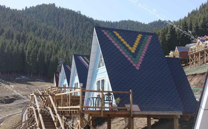 乌鲁木齐南山滑雪场内近郊城南38公里处南山风景区国家森林公园境内
