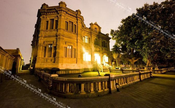 一别墅中德记花园南楼别墅,欧式建筑,由印尼糖王,爱国侨商黄奕住建造.