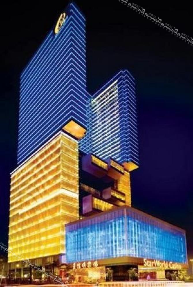 酒店团购 澳门 澳门半岛 大三巴牌坊 澳门星际酒店(starworld hotel)