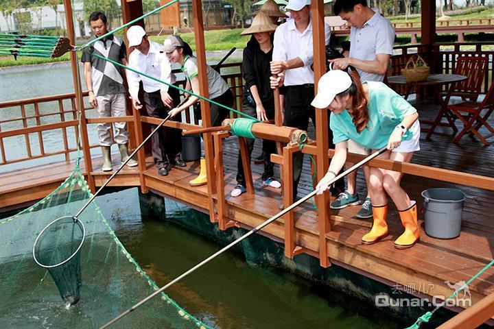 上海太阳岛度假酒店—农场垂钓