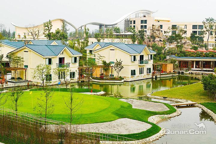 成都鱼凫国都温泉大酒店—别墅外景
