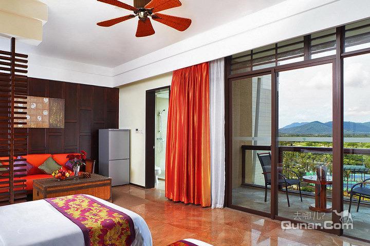 三亚亚龙湾红树林度假酒店—园景家庭套房(双床)