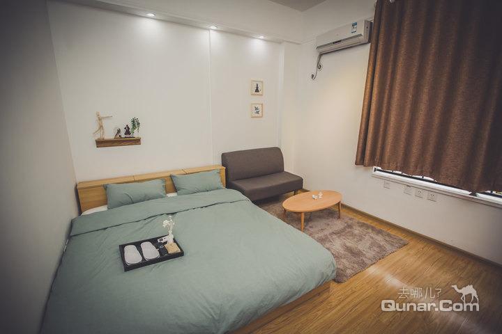 【四方长途汽车站区】青岛绅豪su居酒店式公寓(muji大床房)