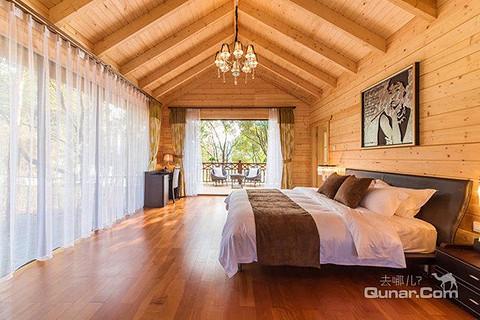 【含早】美的鹭湖森林度假区-木屋酒店客房 泳池门票