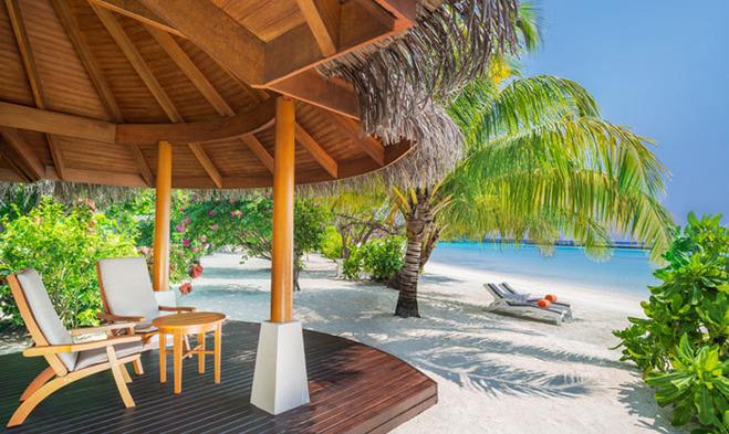 代理直供 马尔代夫 满月岛 2晚豪华沙滩别墅 2晚水上>