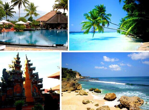 巴厘岛5晚7日,香薰精油spa按摩 180度海景下午茶kuta海滩 金巴兰bbq烧