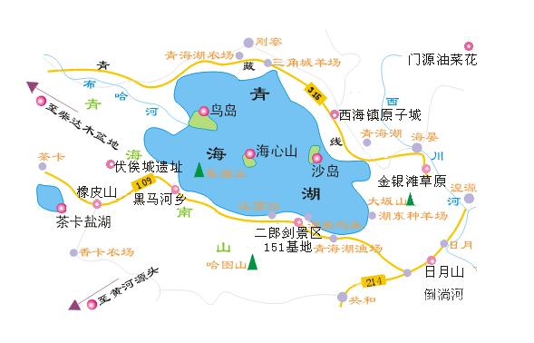 塔尔寺手绘地图