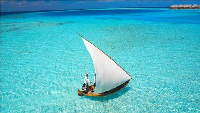 这马尔代夫所特有的巡游岛屿活动:搭乘多尼船出发,去拜访几个迷你的