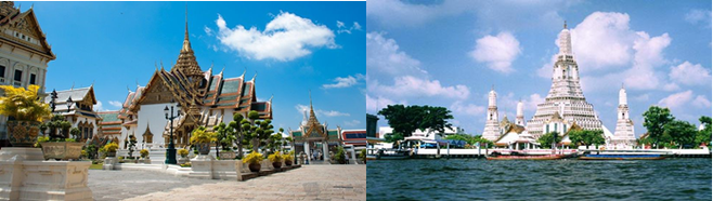 后前往曼谷郊区参观继而驱车前往泰国超人气大型欧式