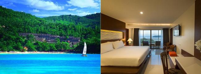 "garden resort""或同级 +两晚泳池别墅度假村酒店phuket sea resort或"