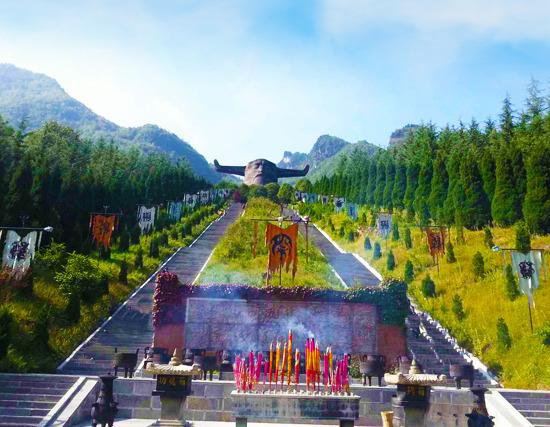 湖北宜昌,神农架自然保护区 官门山 板壁岩 神农祭坛