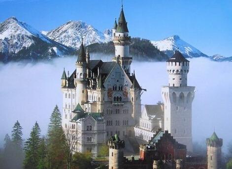 德国象征城堡-它是德国的 象征