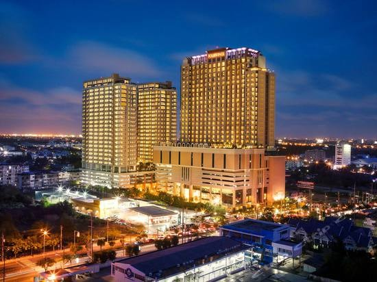 泰国佛塔形高层住宅建筑图