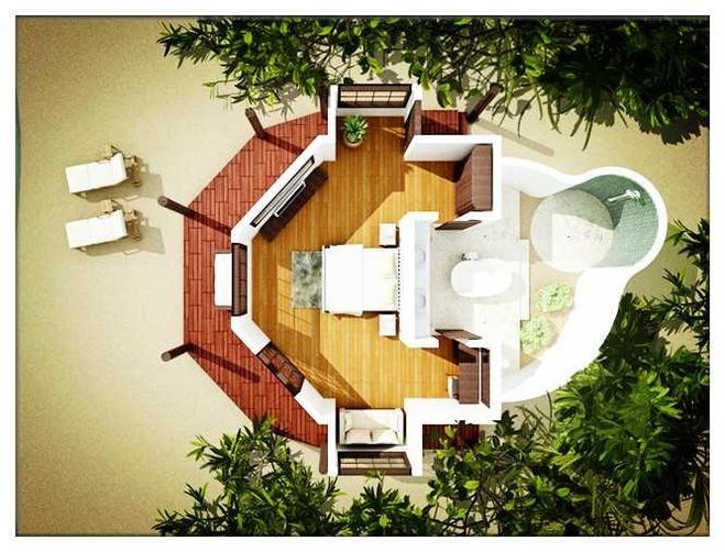 海景别墅木质拼图步骤