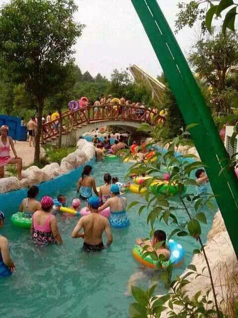 一个夏天 一个五龙山主题公园=奥帕啦啦+方特+野生动物园