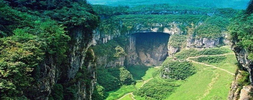 跟團游>魔都重慶+輕軌穿樓+天空懸廊+仙女山+洪崖洞+萬盛奧陶記公園