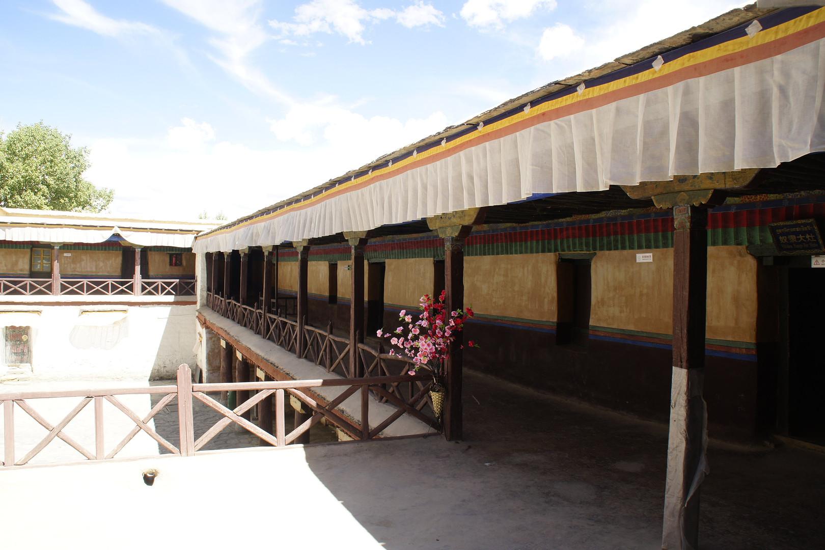 江孜宗山古堡和帕拉庄园