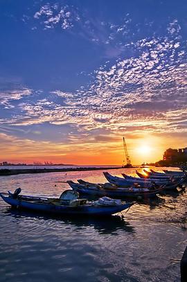 白沙湾海水浴场图片