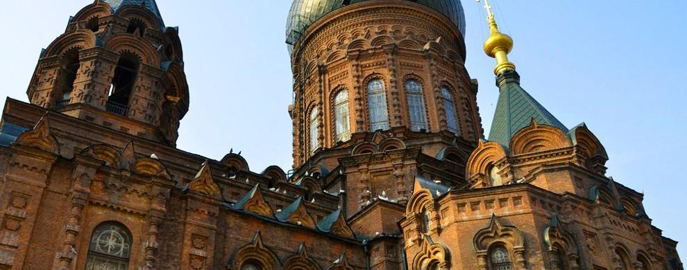 典型的拜占庭式建筑
