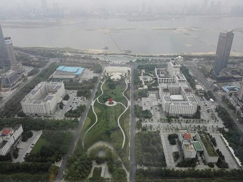 江西绿地中心303观光厅旅游景点攻略图