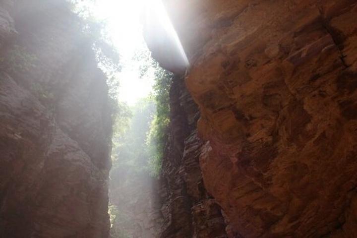 """""""""""嶂石岩""""既是景区的名字也是地质学术语,以地名代表地貌特征的景区国内可能除了这里也就是张家界了_嶂石岩""""的评论图片"""