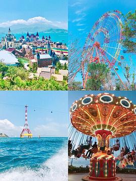 芽庄珍珠岛游乐园旅游景点攻略图