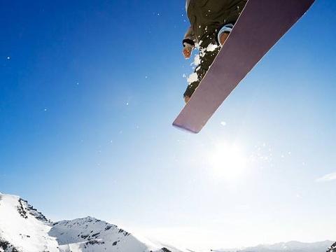 济南金沙湾滑雪场旅游景点图片
