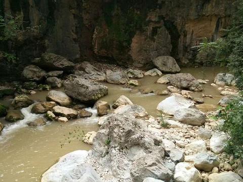 西狭颂景区旅游景点图片