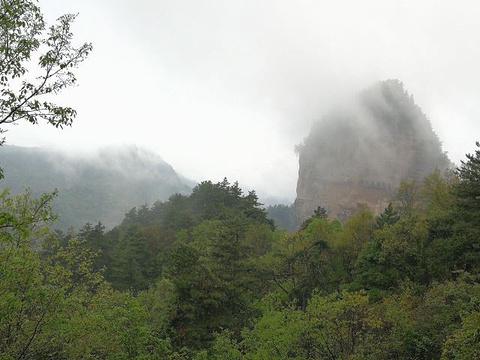 麦积山风景名胜区旅游景点攻略图