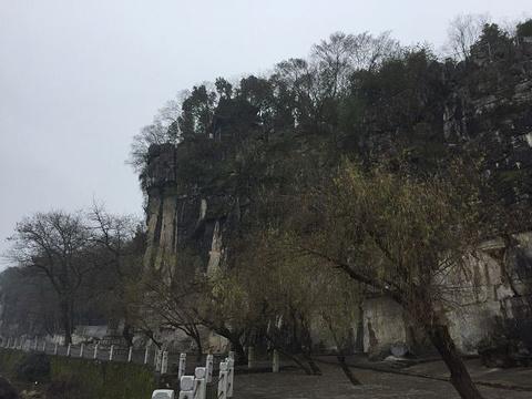 浯溪碑林旅游景点攻略图