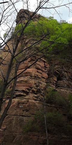 """""""嶂石岩山有特点,这次去只上了一半,去了到中午了,吃完饭一点了,有点晚了,没看回音壁,下次去一定要看看_嶂石岩""""的评论图片"""