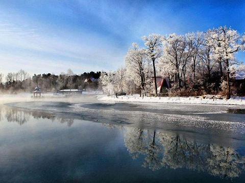 露水河国家森林公园旅游景点图片