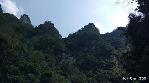 杉木河峡谷旅游景点攻略图