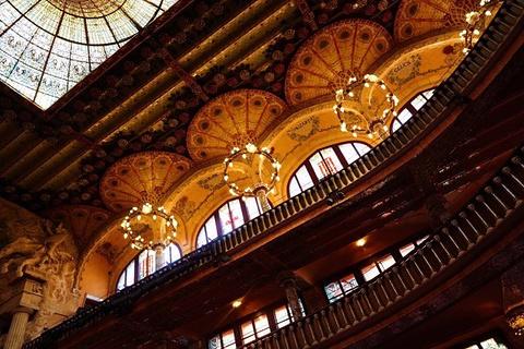 加泰罗尼亚音乐宫旅游景点攻略图