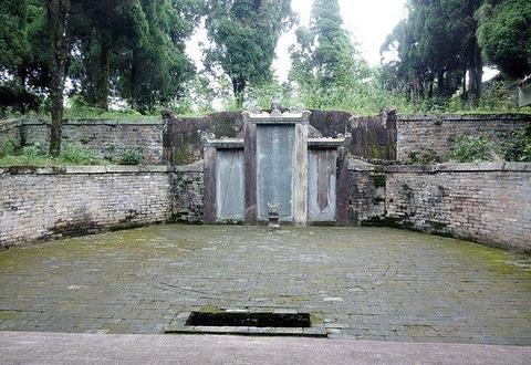 杜甫墓祠旅游景点攻略图