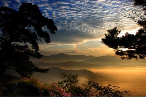仙景台风景区旅游景点攻略图