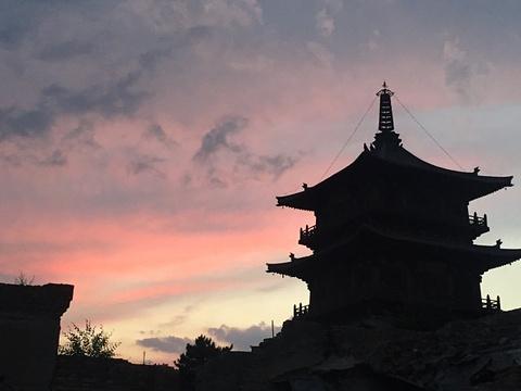 华严寺旅游景点攻略图