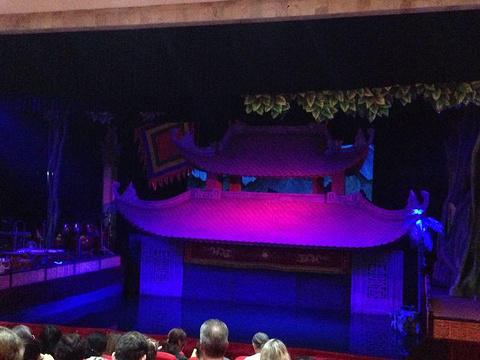 升龙水上木偶剧院旅游景点攻略图