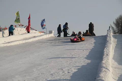 新立湖滑雪场旅游景点攻略图