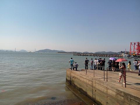 沙角炮台旅游景点图片