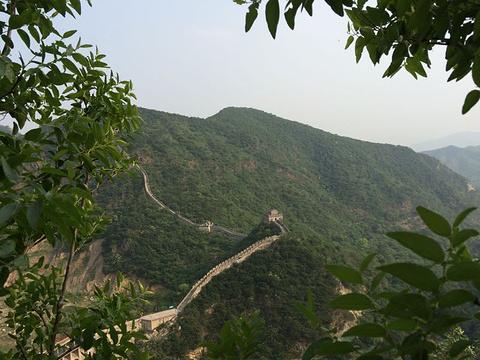 响水湖长城自然风景区旅游景点攻略图