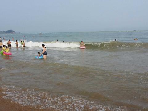 石老人海水浴场旅游景点图片