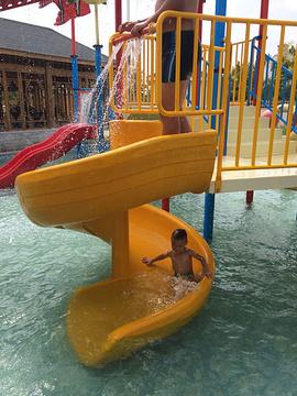 华山御温泉动感水上乐园旅游景点攻略图