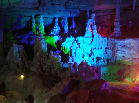 银河洞景区旅游景点攻略图