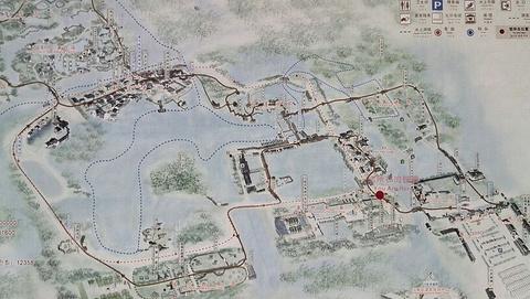 沙家浜风景区旅游景点攻略图