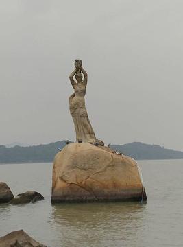 珠海渔女旅游景点攻略图