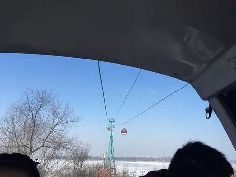 松花江观光索道旅游景点攻略图