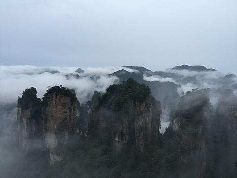 黄石寨索道旅游景点攻略图