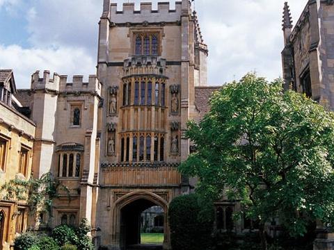 牛津大学旅游景点图片