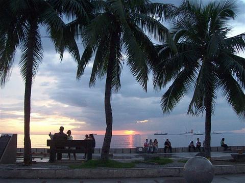 马尼拉湾旅游景点图片